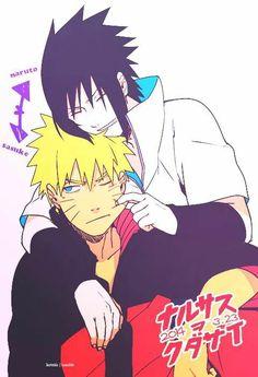 Sasuke looks so happy!