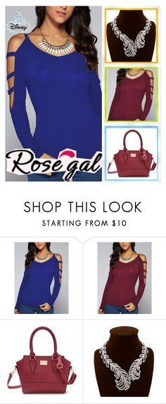 """""""Rosegal 34"""" by aida-ida on Polyvore featuring beauty and vintage"""