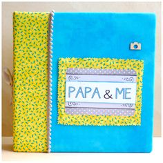 album de fotos para el día del padre... regalos personalizados...www.scrapnika.com