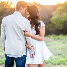 Engagement photos, wedding photography  - Raelene & Casey Plano, Texas by Brandi Allyse Photography