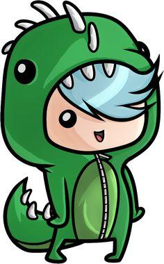 Emo Dino Kid