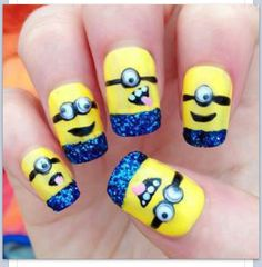 So funny and cute, not sure I would want on all fingers. Which ones to choose?