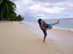 At Urfu beach- Biak Papua