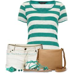 Dorothy Perkins Striped Tee