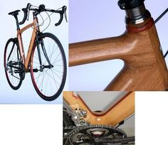 Cozy Beehive: Engineered Wood : The Renovo Bicycle