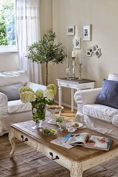 64 White Living Room Ideas | Living rooms, Ivory and Decorating