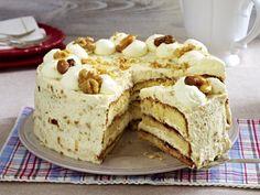 Sahnetorte – die schönsten Rezepte für prachtvolle Torten-Klassiker - nuss-torte  Rezept