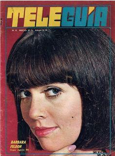 Barbara Feldon / Tele Guia (Chile, 1968) | Goddesses of Our Youth #15: Barbara Feldon