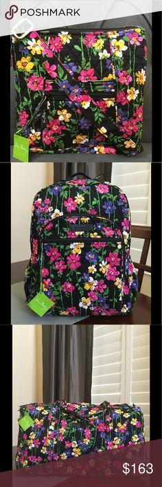VERA BRADLEY BUNDLE NWT Vera Bradley bundle.                                      Campus backpack, hipster, large duffel.                 Wildflower garden.                                                   Smoke/pet free home Vera Bradley Bags Backpacks