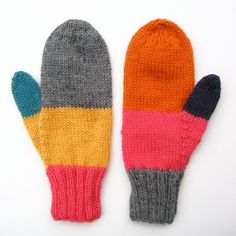 Odd Mittens 8 by blackoutwell on Etsy, £25.00