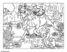 Coloriage Licorne Cultura.1636 Best Coloration Imprimable Images In 2019 Easy