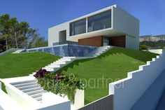 Modern luxury villa with sea views for sale in Altéa - ID 5500066 - Real estate is our passion... www.bulk-partner.com