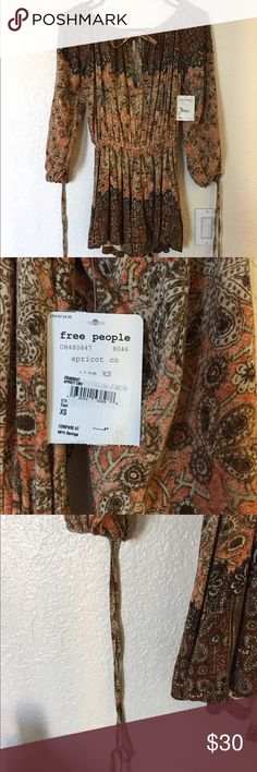 Free people romper Brand new with tag romper with multiple designs Free People Other