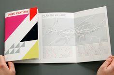guide pratique, graphic design layout