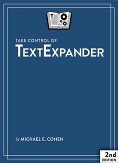 Take Control Of Textexpander PDF