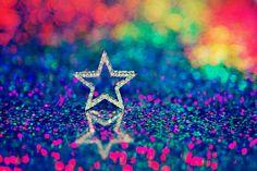 Silver Star Among The Rainbow