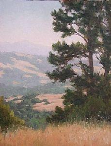 Golden California by Kathleen Dunphy Oil ~  x
