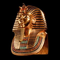 The Ancient Egyptian death mask Pharaoh Tutankhamun. Currently at theEgyptian Museum, Cairo.1323 BC
