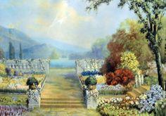 """R. Atkinson Fox, """"Country Garden"""""""