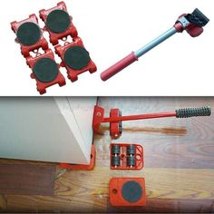 Heavy Furniture Roller Move Tool Pro - Sunailoom Moving Furniture, Furniture Movers, Piano Table, Move In Cleaning, Cleaning Tips, Cool Gadgets To Buy, Diy Home Repair, Home Gadgets, Organization Ideas