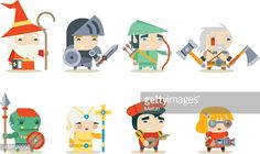 488120058-fantasy-rpg-game-character-icons-set-vector-gettyimages.jpg (538×321)