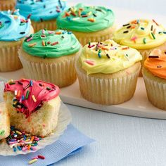 from key ingredient double rainbow cupcakes double rainbow cupcakes ...