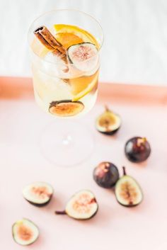 Autumn Fig Sangria Recipe by top Houston lifestyle blogger Ashley Rose of Sugar and Cloth #fallcocktails #figsangria #sangria #cocktails