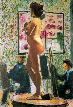 Albert Marquet, desnudo en el atelier, (1898) Bordeaux, Musée de Beaux-Arts.