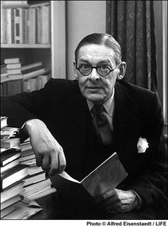 """""""Endless invention, endless experiment,   Brings knowledge of motion, but not of stillness."""" T.S. Eliot"""