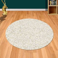 Include Twilight 039 0001 6926 White Shaggy Circle Rug from Mastercraft into your home décor to impress your guests. Its polypropylene material gives it long life whereas anti-fade and stain resistant properties make it a top seller among rugs. Circle Rug, Light Teal, Rugs Online, Shaggy, Modern Rugs, Twilight, Craft, Home Decor, Life