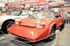 Pangolina 444GT - The Soviet Supercar, built in Russia in 1983 by Alexander Kulygin and based on a Vaz2101