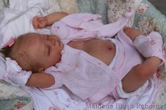 Exquisite reborn baby doll ♥Andi by Linda Murray♥Tummy♥