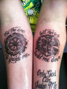 Be the one to guide me / but never hold me down. Love love love this but would get much better wheel n anchor