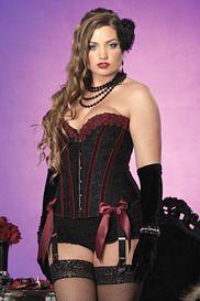 Diva Crystal Corset