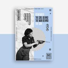 Shanti-Sparrow-Women-in-war-poster-design