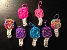 Rainbow Loom Cotton Candy/Lollipop Charm