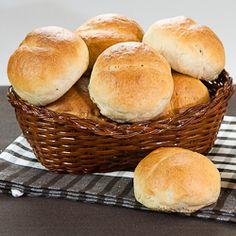 Wheat and rye buns