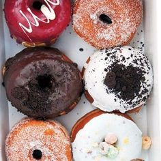 SuzyQ, Ottawa - 991 Wellington St W - gourmet donuts Suzy Q Donuts, Standard Coffee, Pottery Store, Coffee And Donuts, Donut Shop, Ottawa, Doughnut, Oreo, Dates