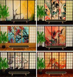 HappyToBe | Colección de paredes de estilo japonés, 15 de...