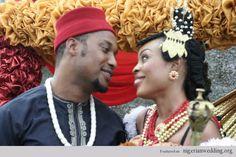 Nigerian wedding efik akwaibom attire iman ekong