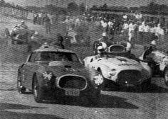 FERRARI 250 MM BERLINETTA PININFARINA - 11/12/1955 - A Ferrari 250 MM Berlinetta de Casini na largada do Prêmio Prefeitura de S. Paulo, no autódromo de Interlagos - São Paulo - Brasil Felipe - Álbuns da web do Picasa