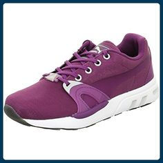 Puma, 359717 03 XTS Matt & Shine, grape juice/glaciergrey Textil, Größe 5,5, Rot - Sneakers für frauen (*Partner-Link)
