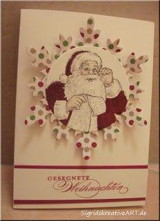 Sigrids kreative ART: Santa lässt grüßen