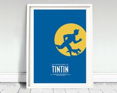 The Adventures of TinTin movie poster: by ArchiveFilmPosters