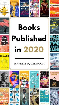 Looking for new books to read? Take a look at all the books published in 2020 to find amazing new 2020 book releases to add to your reading list. Best Book Club Books, Best Books To Read, New Books, Good Books, Starting A Book, Young Adult Fiction, Reading Challenge, Journal Prompts, Historical Fiction