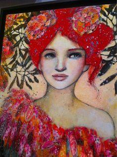 Rouge et Rose...Delphine Cossais