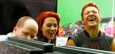 I never NOT love a laughing Renner gif…..