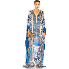 Roberto Cavalli Printed Woven Dress ($3,045) ❤ liked on Polyvore featuring dresses, roberto cavalli, roberto cavalli dresses, silk dress, button front dress and woven dress