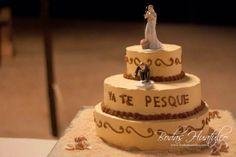 Pastel ideal para tu boda en playa por Bodas Huatulco