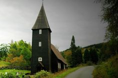 Hamre Church, Osterøy, near Bergen, Norway.